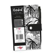 Tropical Noir Slim Notebook & Pen (PNBS)