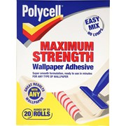 Polycell Wallpaper Adhesive 20 Roll (5133717)