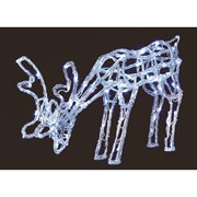 Premier Acrylic Standing Reindeer With 90 Leds (LV161012)