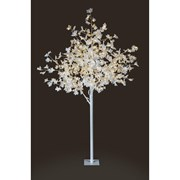 Premier Dec White Maple Leaf Tree 150 White Leds 1.5mt (LV141326W)
