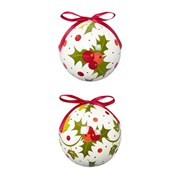 Premier Holly And Ivy Paper Ball (TD144959)
