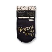 Cooksmart Prosecco Ho Ho Ho Double Oven Glove (9834)