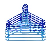 Russel Plastic Hangers Set Of 8 Blue (PT1608)