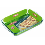 Pyrex Glass Rectangle Roaster 40x27cm 3.7lt (239B000)