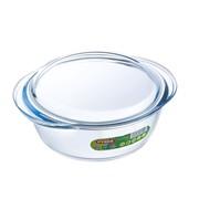 Pyrex Glass Round Casserole 2lt (204A000)