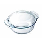 Pyrex Glass Round Casserole 1.4lt (105A000)