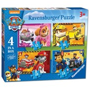 4 in 1 Box Paw Patrol Puzzle (07033)