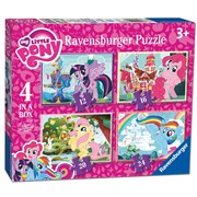 4 in 1 Box My Little Pony Puzzle (06896)