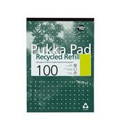 Pukka Pad Recycled Refill Pad A4 (RCREF50)