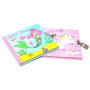 Sequin Secrets Diary Mermaid & Unicorn (RFS12611)