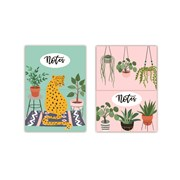 Mini Magnetic Notebooks Cdu Urban Jungle (RFS13203)