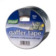 Ultratape Rhino Black Cloth Tape 50m (RH0043-50-BLK)