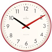 Riley Wall Clock Red (22574)