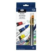 Royal Brush Acrylic 12pce Paint Set (ACR12)