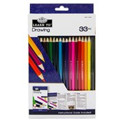 Royal Brush Learn To Set Drawing 33pce (RSET-LT253)