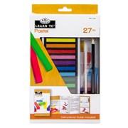 Royal Brush Learn To Set Soft Pastels 27pce (RSET-LT257)