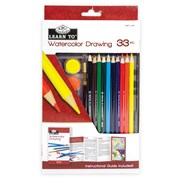 Royal Brush Learn To Set Watercolour Drawing 33pce (RSET-LT251)