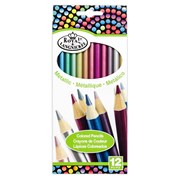 Royal Brush Metallic Pencils 12s (RTN-157)