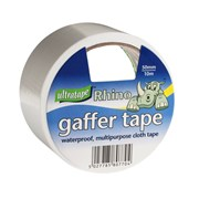 Ultratape Rhino Cloth Tape White 50mm x 10m 6s (RT01065010wht)