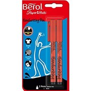 Berol Handwriting Pen Black 2s (S0672930)