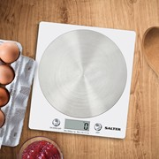 Salter Disc Kitchen Scale White (1036WHSSDR)