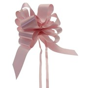 "Sateen Pull Bows Baby Pink 2"" (PB5880)"