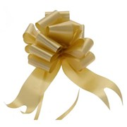 "Sateen Pull Bows Gold 2"" (PB5878)"