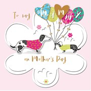 Mothers Day Ballons For Mummy (SCMR0035/CMY)