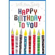 Simon Elvin Male Birthday Cards (27340)
