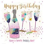 Birthday Bubbles Card (SFE30005)