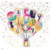 Birthday Balloons Card (SFE30007)