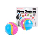 Sharples Five Senses Beef Scented Rubber Toy 8cm (195411)