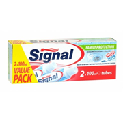 Signal Toothpaste Family Protect Twin 100ml (831000)