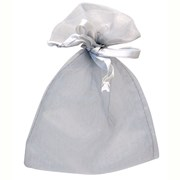 Silver Favour Bag 10s (BG2008)