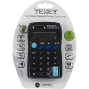 Pocket Calculator Black (SL8BLACK)