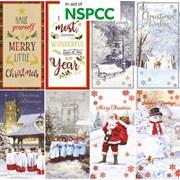 Slim Charity Christmas Cards 18s (X-23307-C)