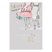 Mothers Day Fabulous Mum (SMM183W)
