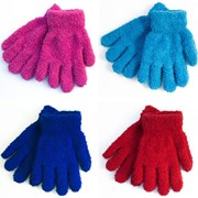 Girls Thermal Snow Soft Magic Gloves (GL022)