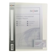 Snowpake A4 Ringbinder Clear 25mm (10183)
