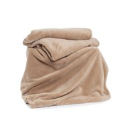 Deyongs Snuggle Touch Throw Pebble 180cm
