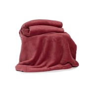 Deyongs Snuggle Touch Throw Rose 180cm