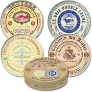 Gourmet Cheese Plates 4s (SP3607)