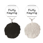 Spots & Stripes Fluffy Keyrings (SPSP)