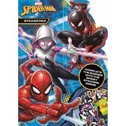 Spiderman Shaped Sticker Pad (SPSTP3)