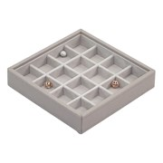 Lc.16 Section Charm Stacker Taupe & Grey (73759)