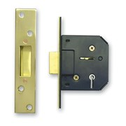 "Sterling Locks 5 Lever Mortice Deadlock 2.5"" (MLD525)"