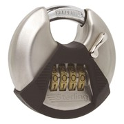 Sterling Locks Combination Disc Padlock 70mm (CPL170)