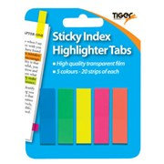 Sticky Index Tabs Asst (301307)