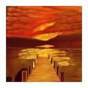 Benaya Tiles Sunset Dock 8x8 (BE104683)