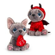 Keel Frenchie Valentines Assorted 20cm (SV3364)